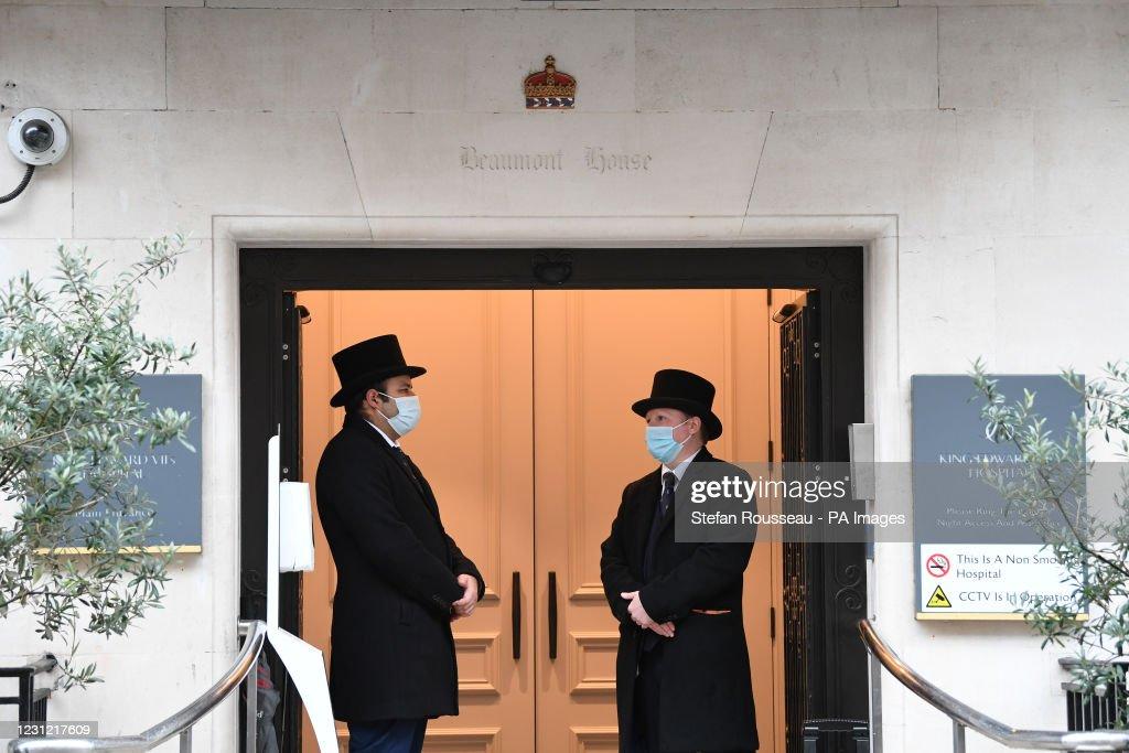 Duke of Edinburgh admitted to hospital : ニュース写真