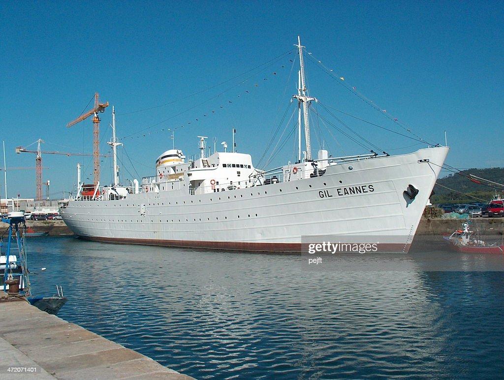Hospital Ship Gil Eannes, Portugal : Stock Photo
