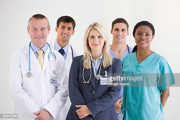 Personnel de l'hôpital
