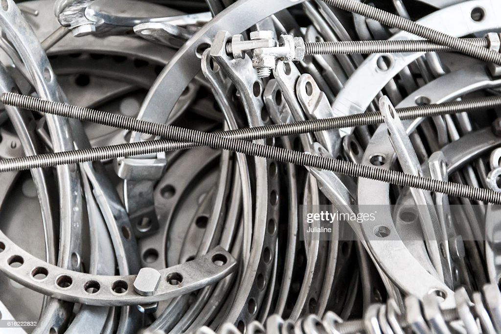 Hospital traumatology equipment : Stock Photo