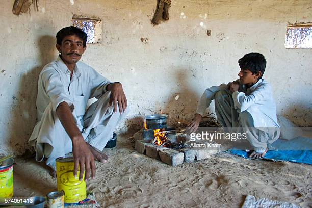 Hospitality of people and Faces from the Thar Desert, Sindh, Pakistan