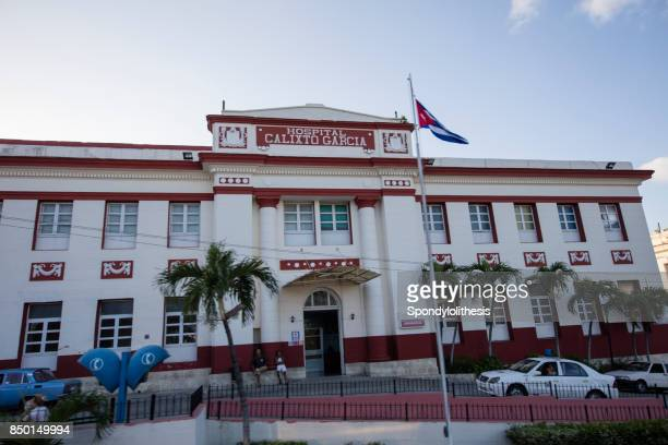 hosptial at havana, cuba - cuban doctors stock pictures, royalty-free photos & images