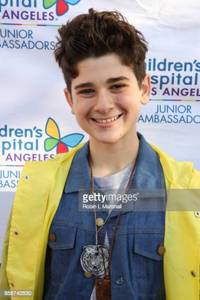 Hosr Jax Malcolm attends the 2nd Annual #ActionJax Halloween Movie Morning Fundraiser at the Vista Theatre on October 7 2017 in Los Angeles California