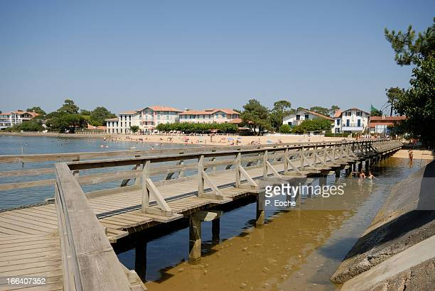 Hossegor seaside resort, salt lake