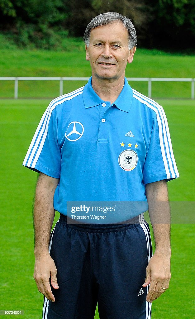 Hossein Salmani, physiotherapist poses during the U17 Germany team presentation at the Sportschule on September 14, 2009 in Hennef, Germany.