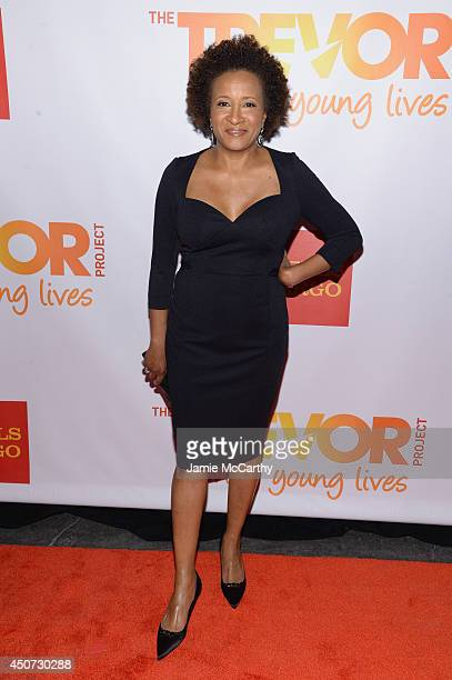 Host actress comedian Wanda Sykes attends the Trevor Project's 2014 'TrevorLIVE NY' Event at the Marriott Marquis Hotel on June 16 2014 in New York...