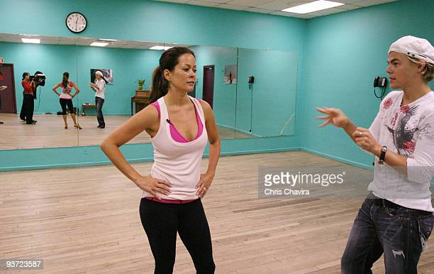 STARS REHEARSALS A host actress entrepreneur and celebrity mom Brooke Burke has truly done it all She has graced numerous magazine covers has her own...