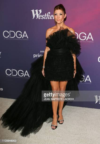 Host actress Kate Walsh attends the 21st Costume Designers Guild Awards at The Beverly Hilton Hotel on February 19 2019 in Beverly Hills