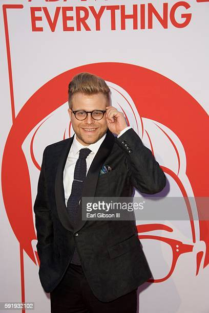 Host Adam Conover attends the Screening and Reception for truTV's 'Adam Ruins Everything' at The Library at The Redbury on August 18 2016 in...
