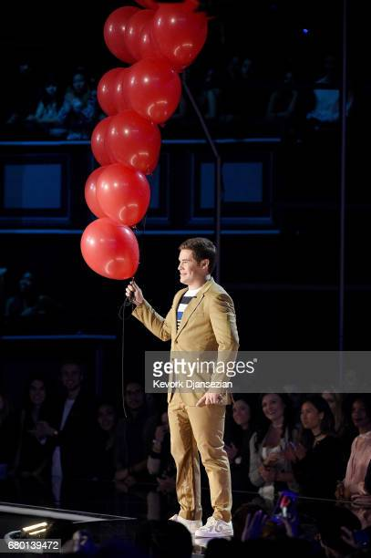 Host Adam DeVine performs onstage during the 2017 MTV Movie And TV Awards at The Shrine Auditorium on May 7 2017 in Los Angeles California