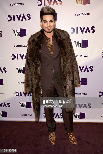 Host Adam Lambert attends 'VH1 Divas' 2012 at The Shrine Auditorium on December 16 2012 in Los Angeles California