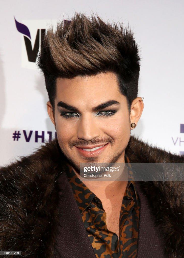 Host Adam Lambert attends 'VH1 Divas' 2012 at The Shrine Auditorium on December 16, 2012 in Los Angeles, California.