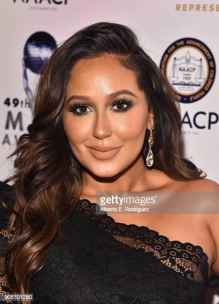 TV host Adrienne Bailon attends the 49th NAACP Image Awards NonTelevised Award Show at The Pasadena Civic Auditorium on January 14 2018 in Pasadena...