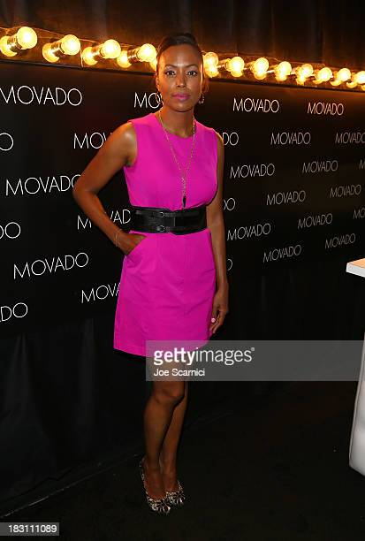 Host Aisha Tyler attends Variety's 5th Annual Power of Women event presented by Lifetime at the Beverly Wilshire Four Seasons Hotel on October 4 2013...