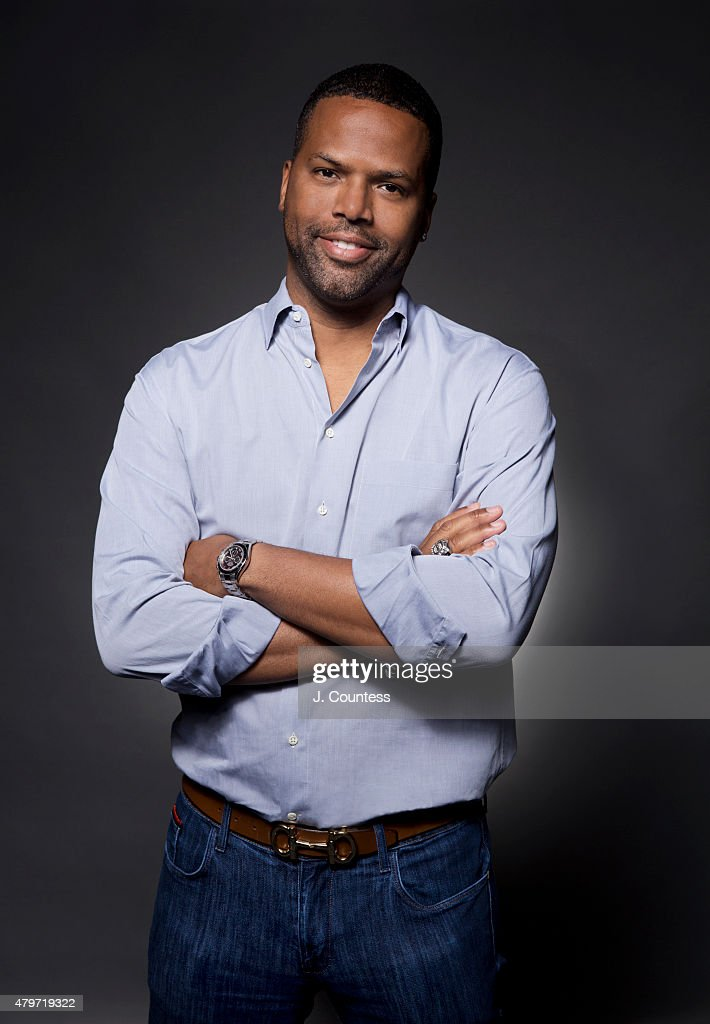 TV host AJ Calloway poses for a portrait at the American Black Film Festival on June 12, 2015 in New York City.