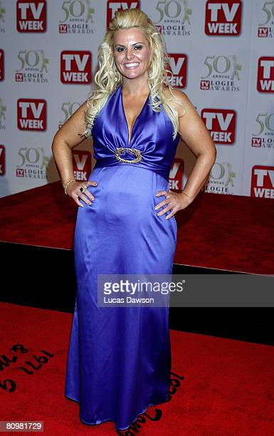 TV host Ajay Rochester arrives on the red carpet at the 50th Annual TV Week Logie Awards at the Crown Towers Hotel and Casino on May 4 2008 in...