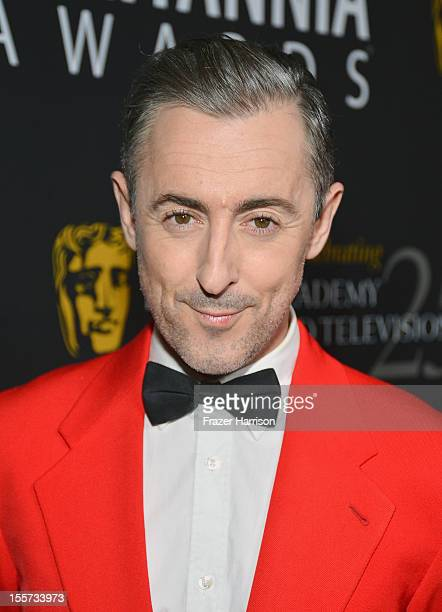 Host Alan Cumming arrives at the 2012 BAFTA Los Angeles Britannia Awards Presented By BBC AMERICA at The Beverly Hilton Hotel on November 7 2012 in...