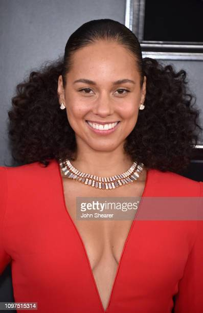 Host Alicia Keys attends the 61st Annual GRAMMY Awards at Staples Center on February 10 2019 in Los Angeles California
