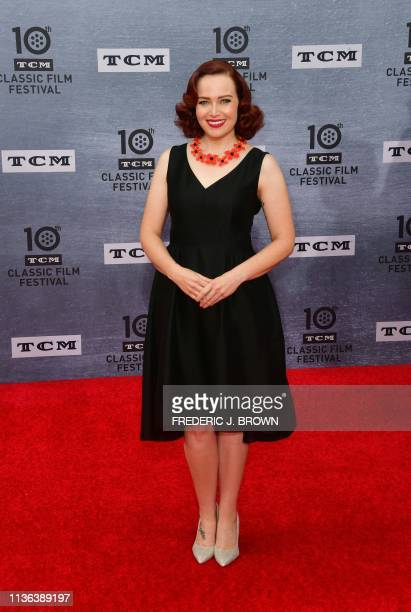 TCM host Alicia Malone arrives for the 30th Anniversary Screening of 'When Harry Met Sally' presented as the Opening Night Gala of the 2019 TCM...