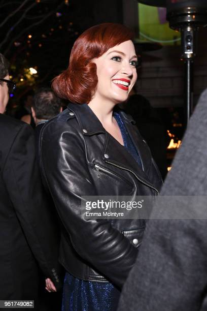 Host Alicia Malone attends the 2018 TCM Classic Film Festival Opening Night After Party on April 26 2018 in Hollywood California 350620