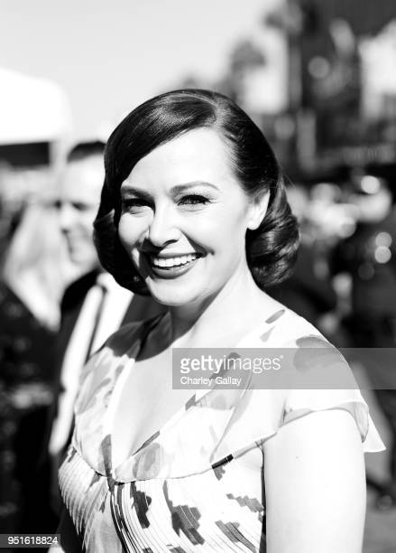 Host Alicia Malone attends The 50th Anniversary World Premiere Restoration of 'The Producers' Opening Night Gala and Robert Osborne Award at the 2018...