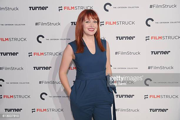 Host Alicia Malone attends the FilmStruck launch event at 404 NYC on October 6 2016 in New York City