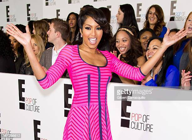 Host Alicia Quarles attends the E 2013 Upfront at The Grand Ballroom at Manhattan Center on April 22 2013 in New York City