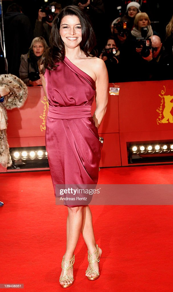 TV host Ana Plasencia attends the Closing Ceremony during day ten of the 62nd Berlin International Film Festival at the Berlinale Palast on February 18, 2012 in Berlin, Germany.