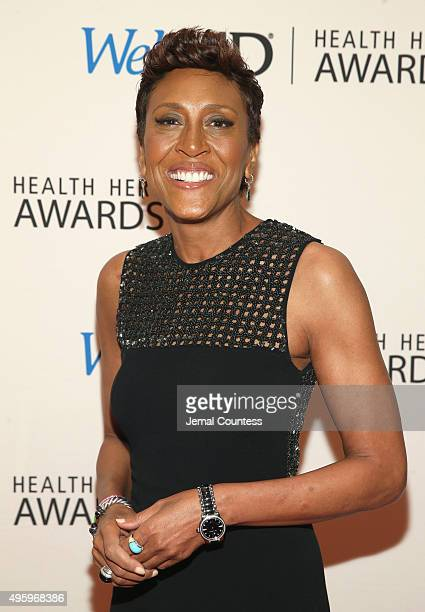 Host Anchor ABC's Good Morning America Robin Roberts attends the 2015 Health Hero Awards hosted by WebMD at The Times Cente on November 5 2015 in New...