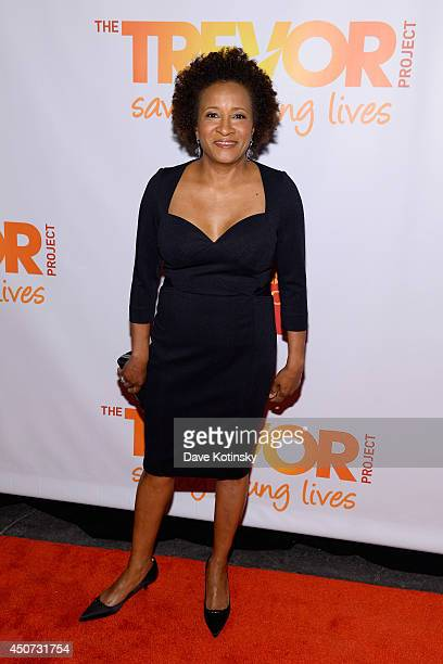 Host and actress comedian Wanda Sykes attends the Trevor Project's 2014 'TrevorLIVE NY' Event at the Marriott Marquis Hotel on June 16 2014 in New...