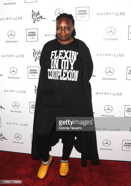 TV host and actress Whoopi Goldberg attends Opening Ceremony September 2018 during New York Fashion Week at Le Poisson Rouge on September 9 2018 in...