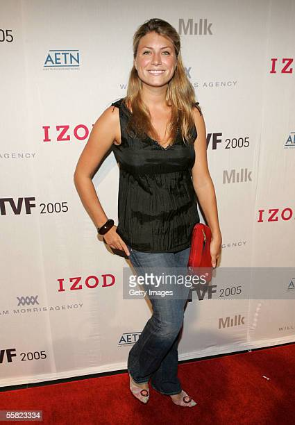 Host And Designer Of Town Hall Trading Space Genevieve Gorder Attends The Opening Night Gala