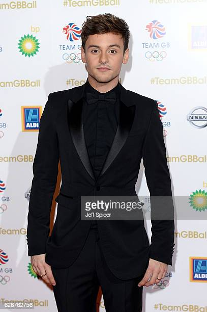 Host and diver Tom Daley attends the Team GB Ball at Battersea Evolution on November 30 2016 in London England
