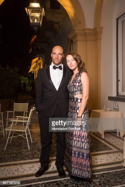 TV host and entrepreneur Andrea Pezzi with actress Cristiana Capotondi during the event Forum Ambrosetti in Villa d'Este Cernobbio Italy 3rd...