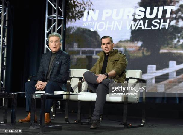 Host and Executive Producer John Walsh and Correspondent and Child Advocate for the National Center for Missing Exploited Children Callahan Walsh of...