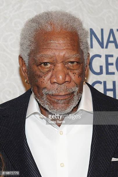 "Host and Executive Producer Morgan Freeman attends National Geographic Channel's world premiere screening of ""The Story of God with Morgan Freeman,""..."