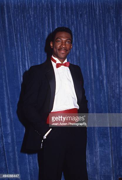 Host and nominee, actor Eddie Murphy at the 35th Annual Primetime Emmy Awards held at the Pasadena Civic Auditorium on September 25, 1983 in...