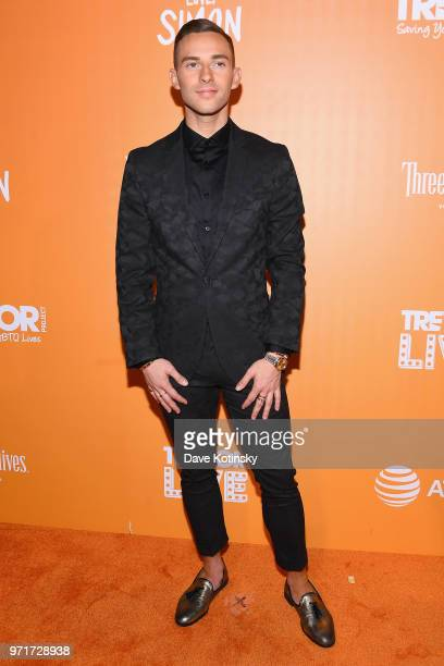 Host and Olympic Athlete Adam Rippon attends The Trevor Project TrevorLIVE NYC at Cipriani Wall Street on June 11 2018 in New York City