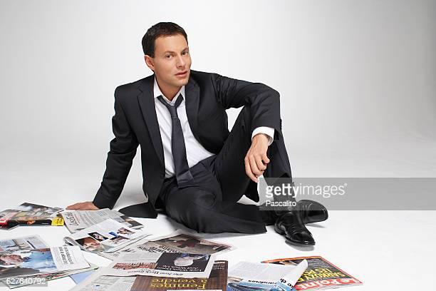TV host and producer Marc Olivier Fogiel
