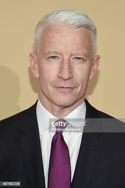 Host Anderson Cooper attends CNN Heroes 2015 Red Carpet Arrivals at American Museum of Natural History on November 17 2015 in New York City 25619_023