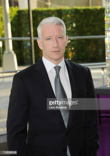 Host Anderson Cooper attends the 2011 CFDA Fashion Awards at Alice Tully Hall Lincoln Center on June 6 2011 in New York City