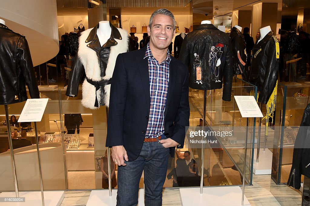 TV host Andy Cohen attends as Barneys New York celebrates its new downtown flagship in New York City on March 17, 2016 in New York City.