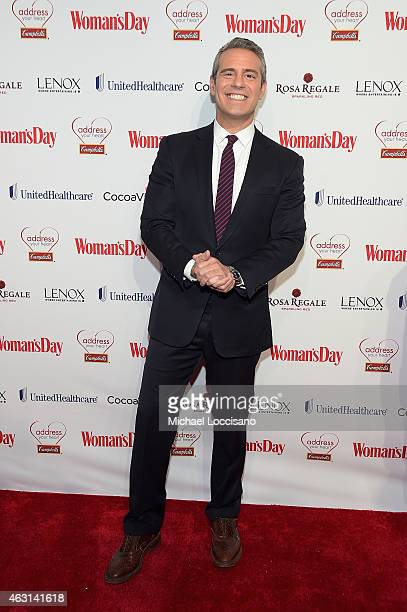 Host Andy Cohen attends the Woman's Day Red Dress Awards on February 10 2015 in New York City
