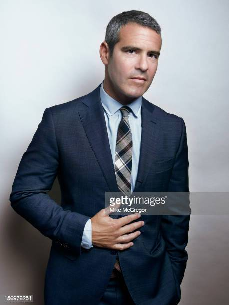 TV host Andy Cohen is photographed for Self Assignment on September 11 2012 in New York City