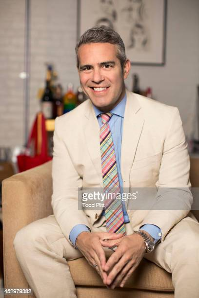 TV host Andy Cohen is photographed in his office for USA Today on July 17 2014 in New York City PUBLISHED IMAGE