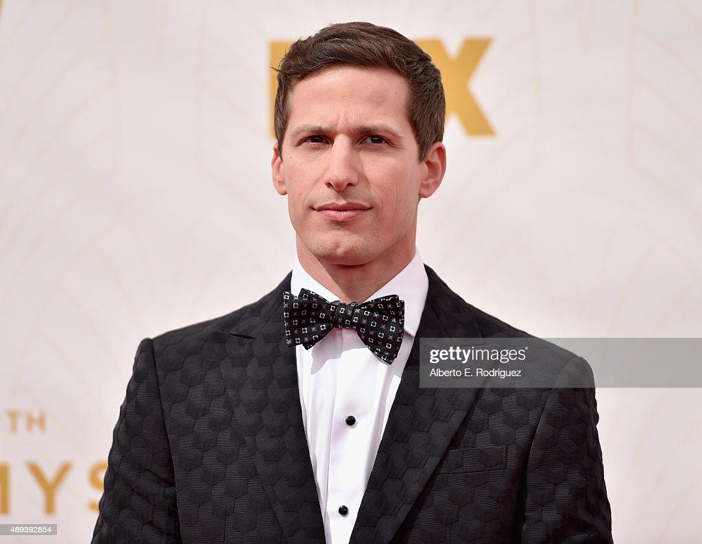 Host Andy Samberg attends the 67th Emmy Awards at Microsoft Theater on September 20, 2015 in Los Angeles, California. 25720_001