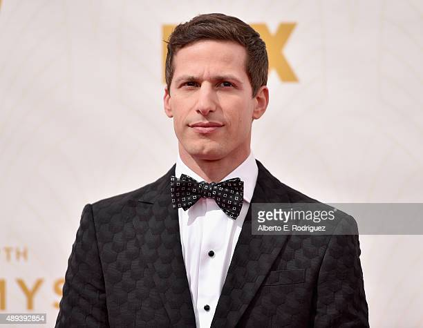 Host Andy Samberg attends the 67th Emmy Awards at Microsoft Theater on September 20 2015 in Los Angeles California 25720_001