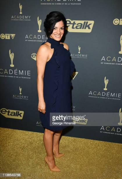 Host Anne Marie Mediwake attends Canadian Screen Awards The CTV Gala Honouring Excellence In NonFiction Programming held at Heritage Court Exhibition...