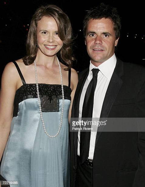 Host Antonia Kidman with her husband businessman Angus Hawley attend the SAD KIDS Dance The Blues Away fundraiser, hosted by Dr Tony Kidman at Luna...