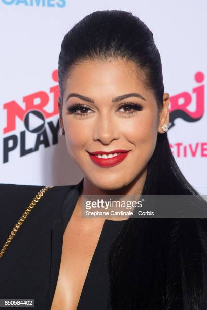 Host Ayem Nour attends the NRJ's Press Conference to Announce Their Schedule for 2017/2018 on September 21 2017 in Paris France